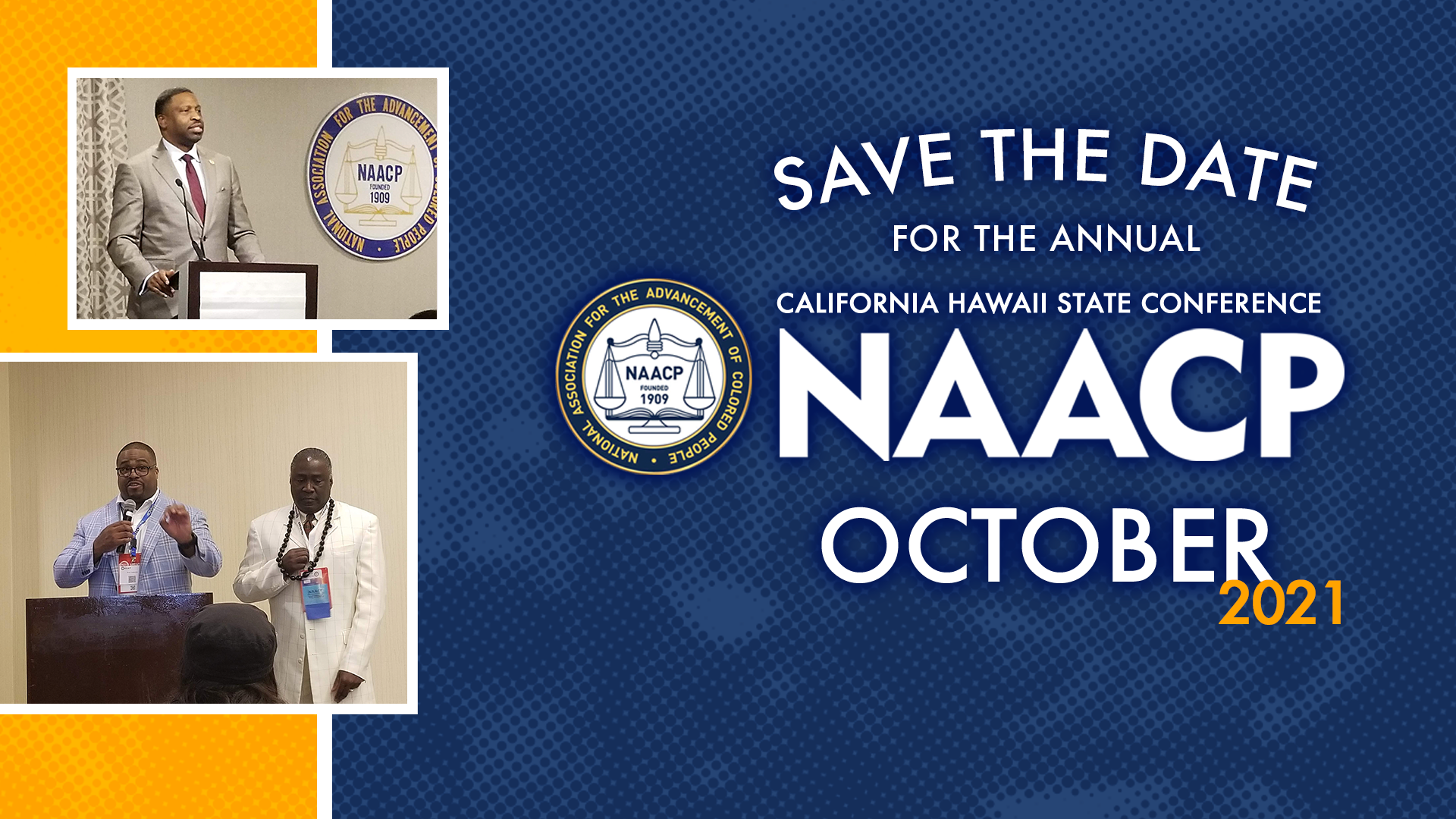 California Hawaii State Conference NAACP, October 2021