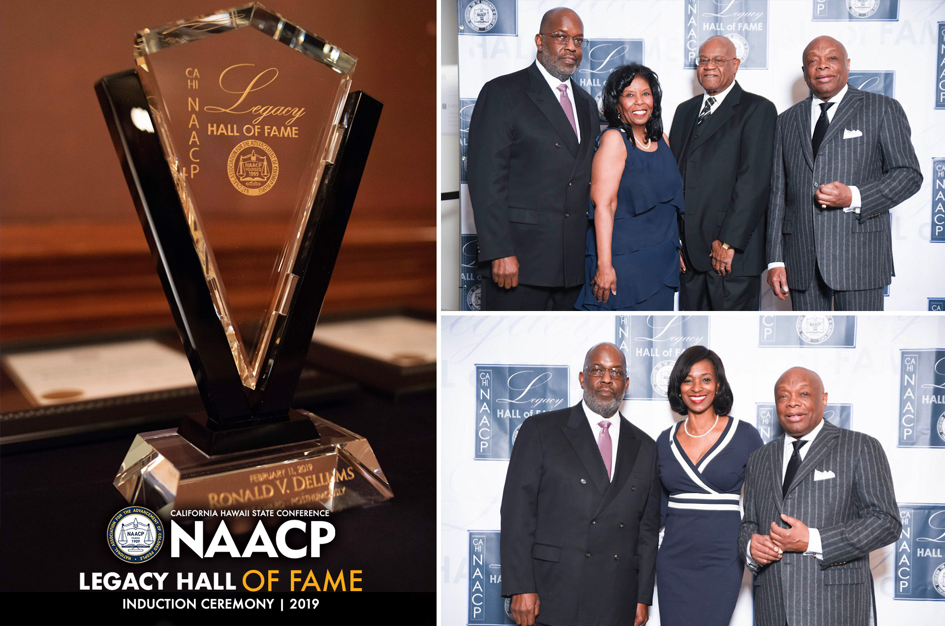 CA/HI State Conference NAACP Legacy Hall of Fame event 2019