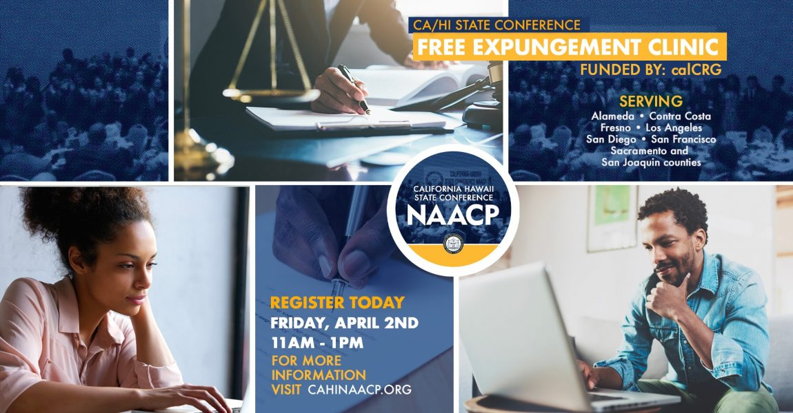 CA/HI offering Free Expungement Clinic