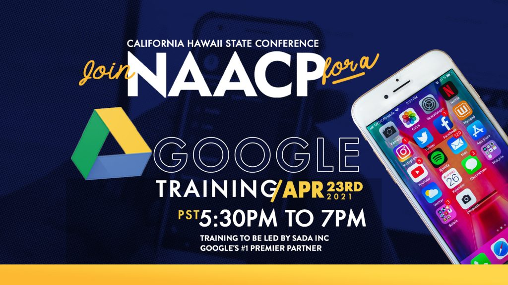 CA/HI NAACP Google Training